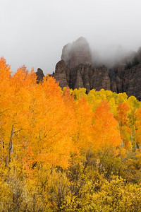 High Mesa Pinnacles in Fall