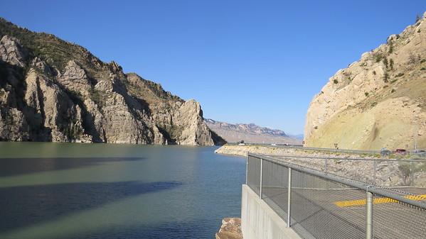 Buffalo Bill Dam, near Cody.