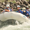 Whitewater rafting, Gallatin River near Big Sky.