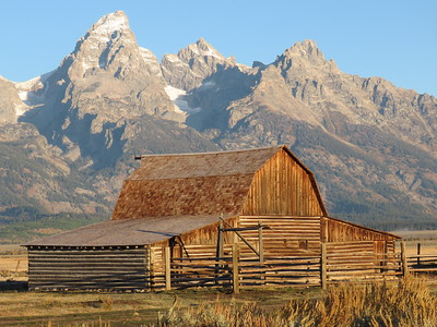 Mormon Row at Tetons