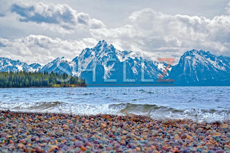 Grand Tetons Shoreline