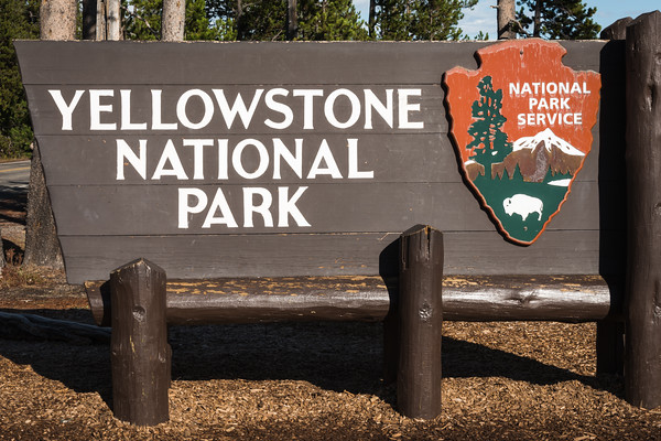Yellowstone National Park Entrance Park