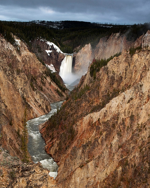 Lower Falls of the Yellowstone River - Yellowstone National Park, Wyoming - John Remy - June 2011