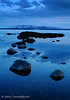 Twilight on Yellowstone Lake - Yellowstone National Park, Wyoming - John Cunningham - May 2008