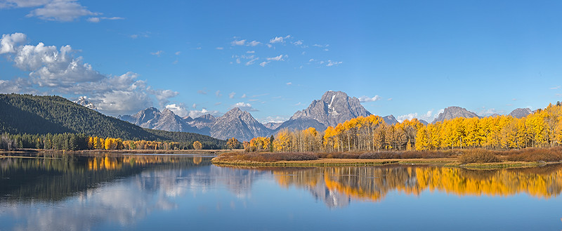 Oxbow Bend, Grand Teton NP