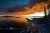 Arnica Fire Created one Beautiful Sunset - Yellowstone National Park - Photo by Pat Bonish
