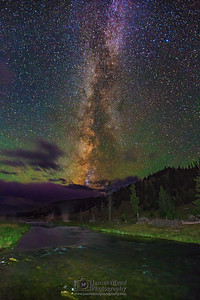 """Radiant Starlight,"" The Milky Way over the Firehole River, Yellowstone National Park""Radiant Starlight,"" The Milky Way over the Firehole River, Yellowstone National Park"