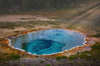 """Enchanted Forever,"" Shield Spring, Upper Geyser Basin, Yellowstone National Park, Wyoming"