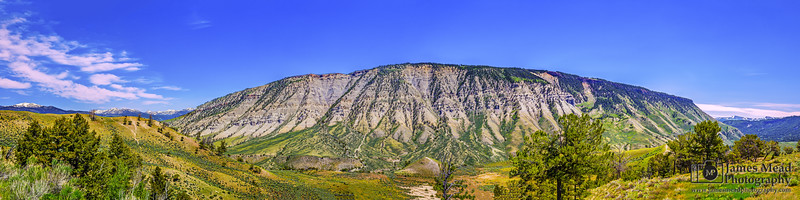 """Unbroken,"" Mount Everts, Yellowstone National Park, Wyoming"