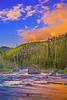 """""""Firehole Sunrise,"""" Yellowstone National Park"""