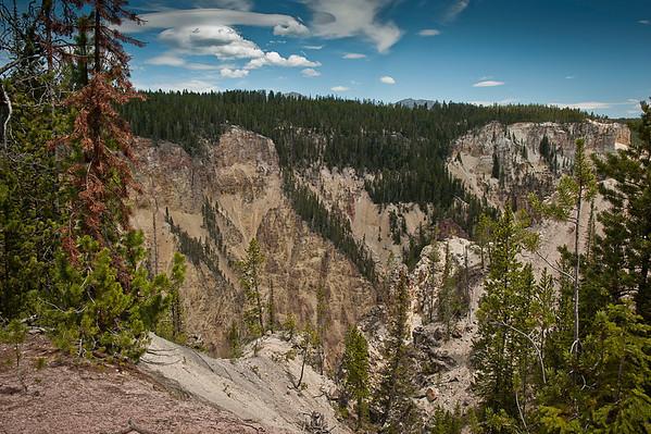 The Yellowstone Canyon