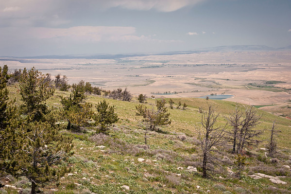 Chief Joseph Scenic By-way overlook.