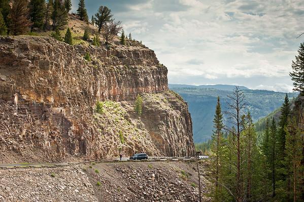 Road just beyond Rustic Falls