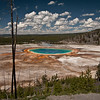 Another angle of the Grand Prismatic Spring.  The reason these pictures are not all together is because I sorted by name and I used two different cameras, a Nikon D700 and a Pentax K-7.  I also used a K-20.