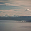 Tighter shot of the Tetons from the Butte Overlook of Yellowstone Lake.