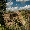 Tower Falls Canyon.