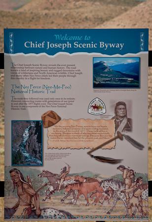 Chief Joseph Scenic Byway.