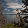 Butte Overlook-Yellowstone Lake-Evening