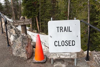 Trail closed...ya think?!