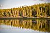 Jeep Reflections on Lake Yellowstone