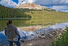 Taking in the Beauty of the Beartooth HWY - Photo by Pat Bonish