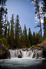 Hot Springs near Union Falls - Bechler Area of Yellowstone National Park - Photo by Pat Bonish