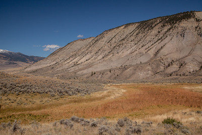 Mt. Everts, Mammoth area of Yellowstone.