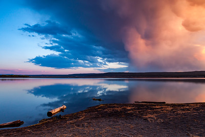Yellowstone lake Mammatus
