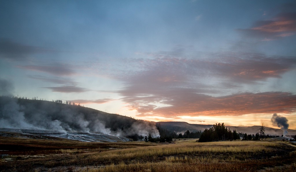 Geyser Hill at Dawn