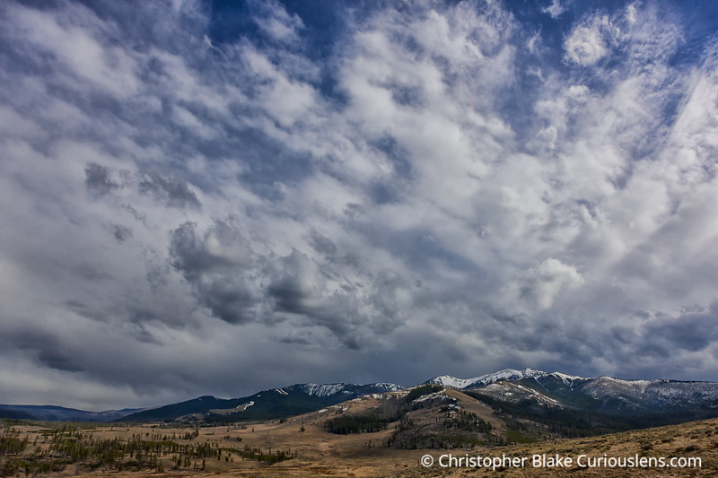 Mountain and Clouds-1