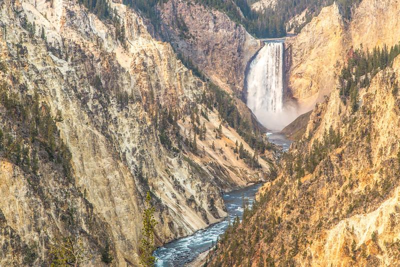 Grand Canyon of Yellowstone and Lower Yellowstone Falls