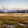 Early morning, Upper Geyser Basin