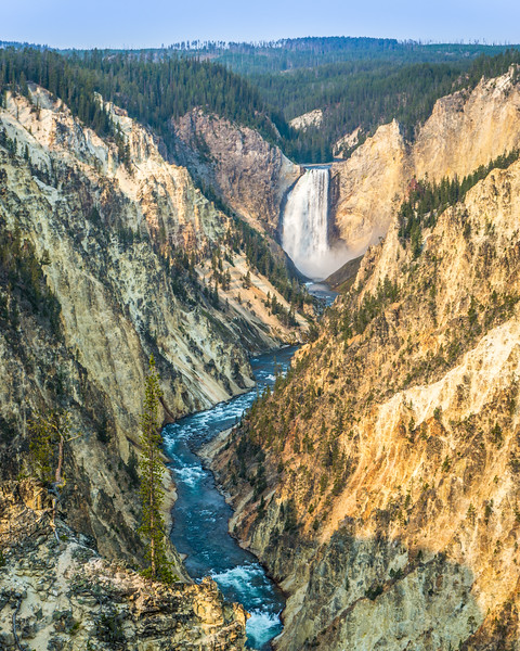 Grand Canyon of Yellowstone and Lower Yellowstone Falls