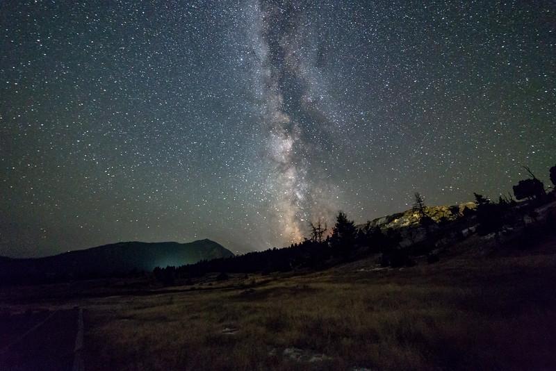 Milky Way Ove Mammoth Highlands