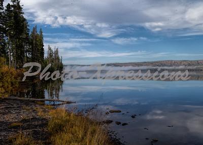 lake with fog bank_5547