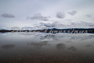 reflection sky lake mountain_2629