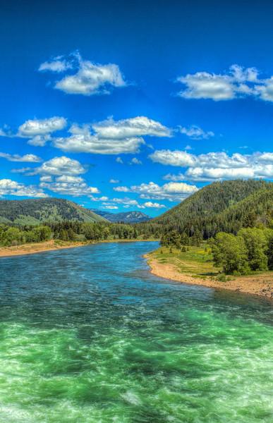 Jackson Lake Dam Grand Tetons