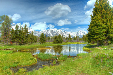 Schwabacher Landing Grand Tetons Wyoming