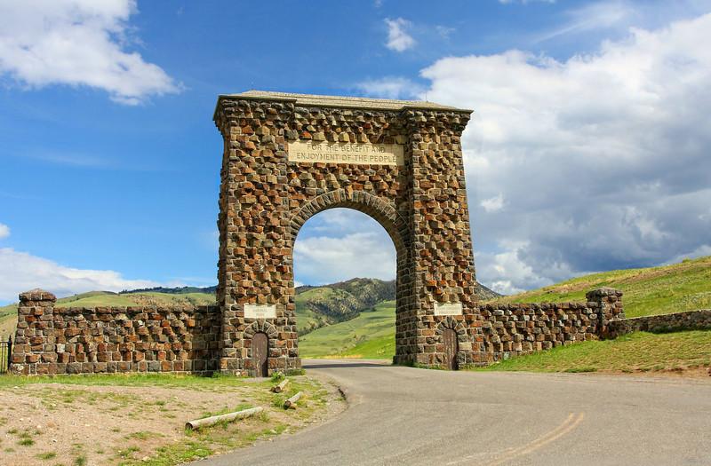 Yellowstone National Park North Entrance