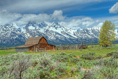 The Mormon Barn, Grand Tetons Wyoming