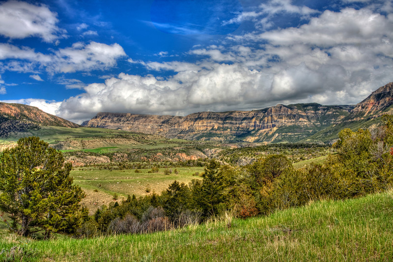 Landscape View Chief Joseph Highway
