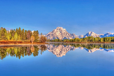 Oxbow Bend, Grand Tetons  Wyoming