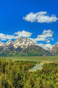 Snake River Overlook  Grand Tetons