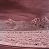 The Grand Tetons at Sunrise - using an Infared Filter