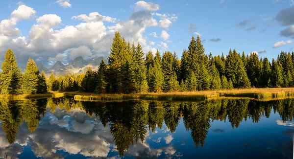 Schwabacher Pond, Tetons NP