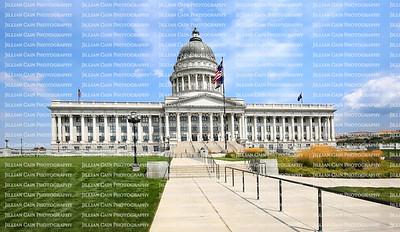 State Capitol Building in Salt Lake City, Utah, USA.