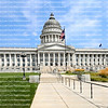 State Capitol Building in Salt Lake City, Utah, USA.