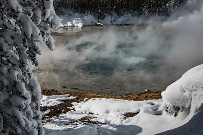 Hot Springs bubbling