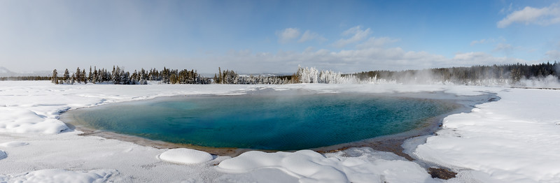 Turquoise Spring in the Midway Geyser Basin