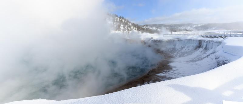 Excelsior geyser in the Midway Geyser Basin